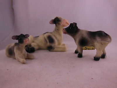 Cow Family figures G scale