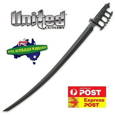 "United Cutlery Combat Commander Sentry Sabre 21.75"" Black Blade UC3173 - STRONG"