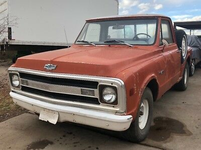 1970 Chevrolet C-10  *NICE* 1970 Chevy C-10 Step Side Short Bed -12 Bolt Posi Rear End