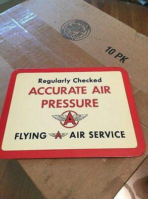 Flying A Accurate Air Pressure Sign