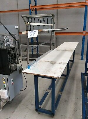 Mobile Packing Station Bench Trolley