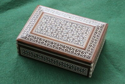 1950s Mother-of-Pearl Inlaid Cigarette Box - Cairo or Baghdad