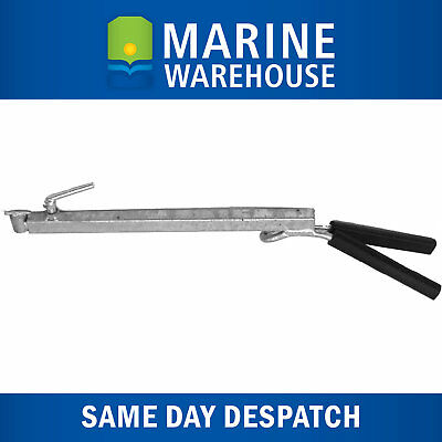 Outboard Motor Support Bracket W/ Rubber Handle - 450mm-775mm Redco Style 204388