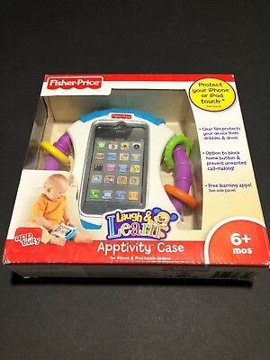 Fisher-Price Kid-Tough iPhone Apptivity Case, Blue . Age 3+. New