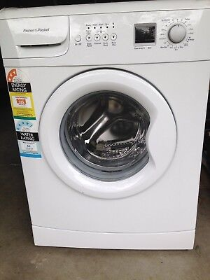 Fisher and Paykel front loader washing machine