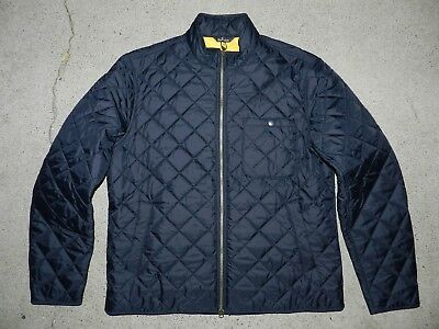 Barbour Pod Slim Fit Quilted Jacket Size X-Large Black (Retail $200.00)