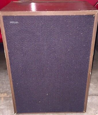 ONE PHILIPS VINTAGE SPEAKER -COMPONENTS - AD 0160/TB - AD 5060/Sq8 - AD 12100/W8