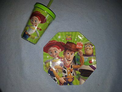 Toy Story Dinner Plate & Cup