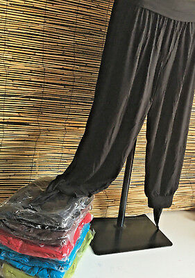 SPECIAL BARGAIN! Lot of 5 very good quality CALF LENGTH PANTS W/TIE SIDE.fit all