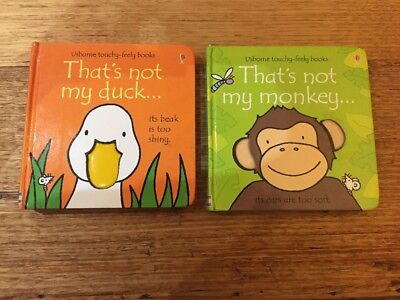 Thats Not My - Usborne touchy-feely books - Duck And Monkey