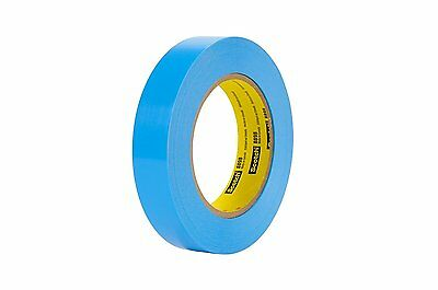Scotch Strapping Tape 8898 Blue, 24 mm x 55 m (Pack of 3)