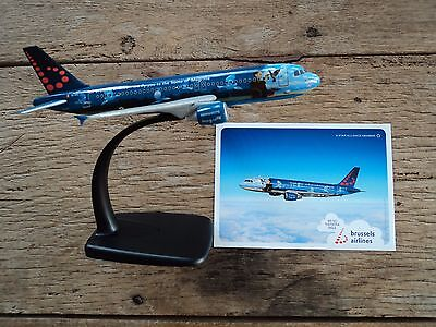 Brussels Airlines Airbus A320 Magritte clairvoyance new in box collector's item