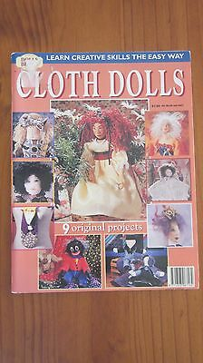 Cloth Dolls Australian Dolls Bears & Collectables Magazine Pattern Isabelle