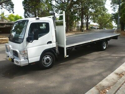 2007 Mitsubishi Fuso Canter Table Top Truck With Extra Long 6.6M Long Tray