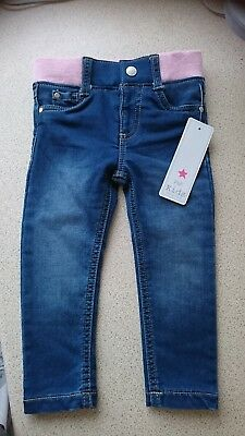 🌟bnwt*baby Girls *jeans*f&f*aged 12-18 Months🌟