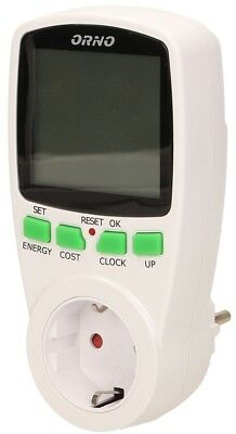 Watt Meter Power Consumption Gauge Electric Meter Energy Meter