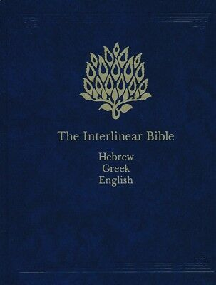 The Interlinear Bible Hebrew-Greek-English 1 Volume Edition with Strong's Concor