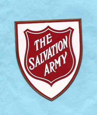 (Very Rare) THE SALVATION ARMY Metal Plaque Badge