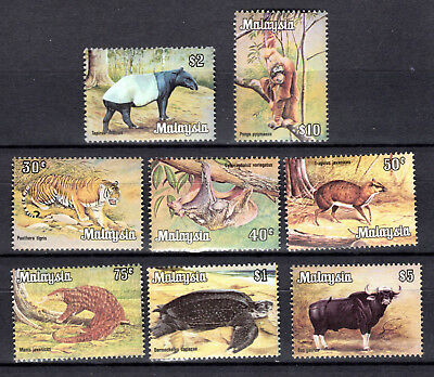 Malaya Malaysia Animals 1979 Wildlife Animals Full Set Of Mnh Stamps Un/mm