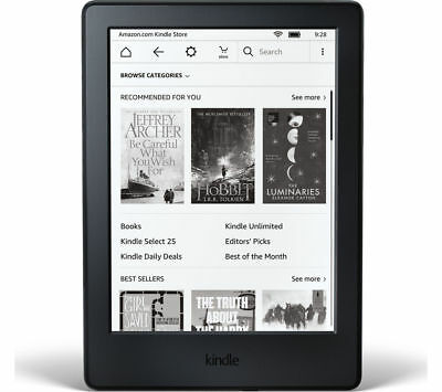 """KINDLE Kindle Touch 6"""" eReader (2016) - 4 GB, Black - Currys"""