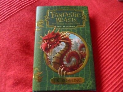 'fantastic Beasts And Where To Find Them' Byjk Rowling.