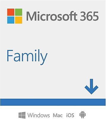 Microsoft Office 365 Hogar Software para PC y Mac, Hasta 6 Usarios 1 Año EU ES