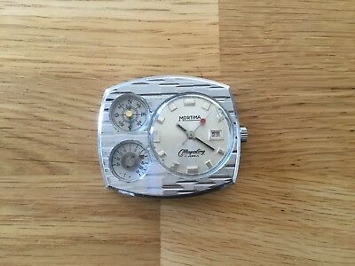 Montre Vintage Mortima Mayerling Survival with thermometer and compass