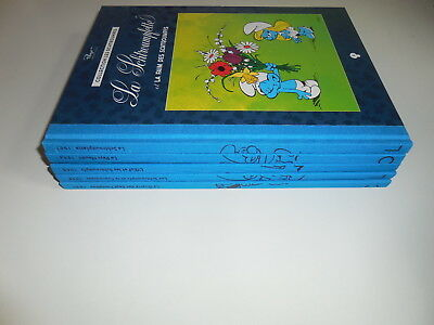 Lot La Collection Les Schtroumpfs Tomes 3/4/5/6/7/ Tbe
