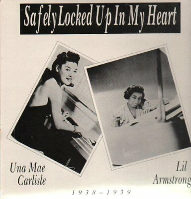 Carlise, Una Mae/lil Arms - Safely Locked Up In My Heart Vinyl Maxi Harlequ NEW