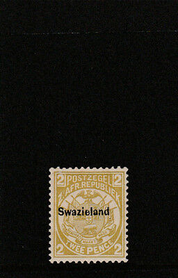 SWAZILAND 1889 issued SG5 vlmm perf 12 1/2