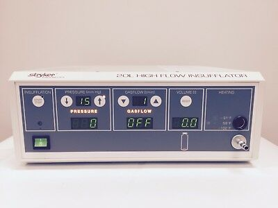 Stryker 20 Liter High Flow Insufflator w/Yoke & Hose