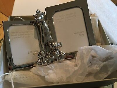 John lewis Baby Silver Photo Frame