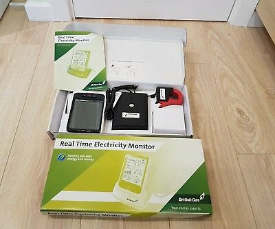 British Gas Real Time Electricity Energy Usage Monitor- New In Box