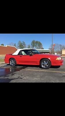 1989 Ford Mustang GT 1989 Ford Mustang GT 5.0 H-O Convertible GT