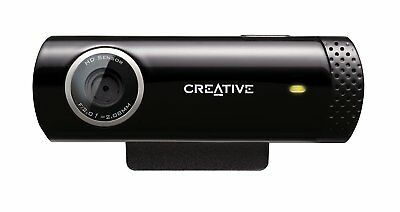 Creative Live Cam Chat HD 720p Kamera mit Mikrofon 5,7MP 7-7.3-4285 USB Webcam