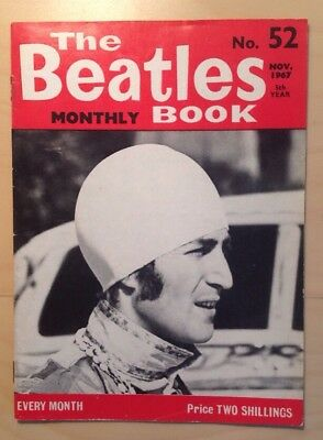 THE BEATLES ORIGINAL MONTHLY MAGAZINE NOVEMBER 1967 No52 EXCELLENT CONDITION