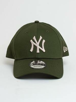 NEW ERA cappellino New york Yankees league essential 9forty  Visiera curva green