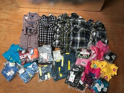 Brand New Kids Clothes - Lot - Over 60 Pcs - Great for Resale!