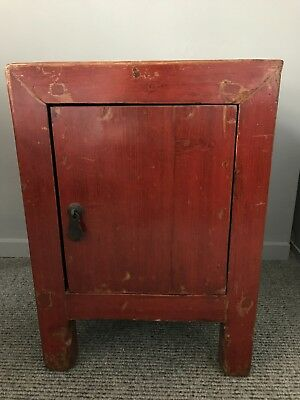 Restored Chinese Bed side/setee side/free standing Cabinet