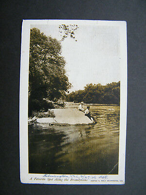 Early George A.Wolf PC of The Brandywine River, Delaware. Posted 1906.