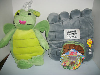 New Reversible Castle To Dragon Happy Nappers Kids Stuffed Animal Toy To Pillow