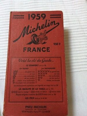 Guide Michelin 1959