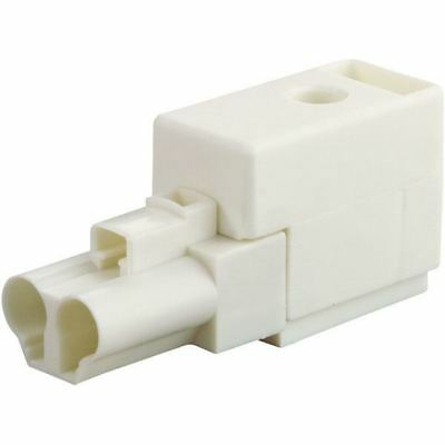 Wieland 93.741.0558.0 2 Pin Female Compact Connector with Strain Relief White