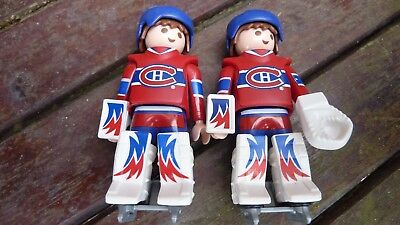 Playmobil two NHL Montreal ice hockey players