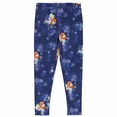 Character Kids Girls Leggings Infant Pants Trousers Bottoms Pattern Stretch