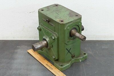 Ohio Gear B238 Speed Reducer Gear Drive 10:1 Ratio