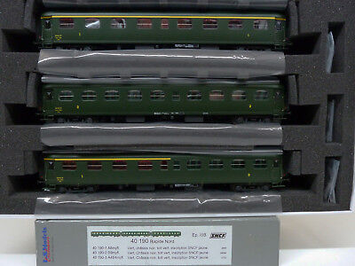 LS MODELS  40190  coffret voitures Rapide Nord  neuf