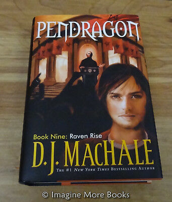 Raven Rise by D.J. MacHale ~ Pendragon: Book 9 ~ Hardcover