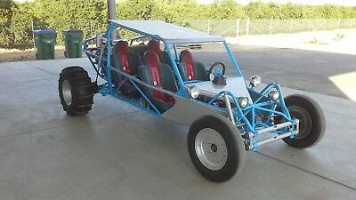 dune buggy w/ enclosed trailer