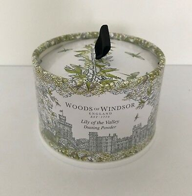 Woods of Windsor Luxury Dusting Powder/w/Puff - Lily of the Valley 100g/3.5 oz